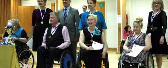 Meri -Lappi oli hyvin edustettuna ja voitokkaana pyörätuolitanssin SM kisoissa 15.3.2015 Lohjan Kisakalliossa
